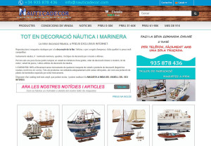 decoracion marinera