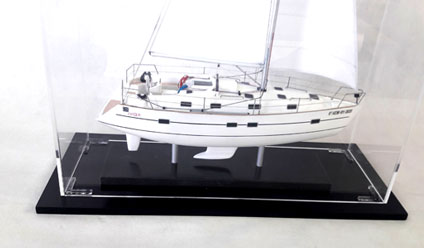 BENETEAU OCEANIS 411 SAILBOAT MODEL