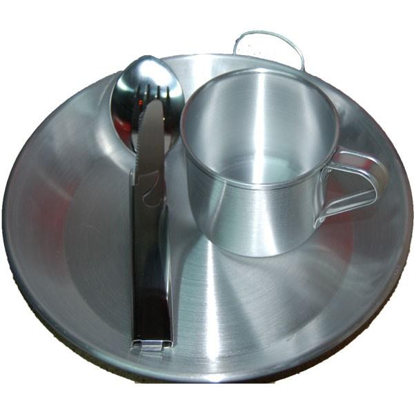 plato aluminio