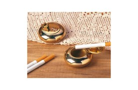 Brass ashtray