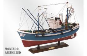 Shrimp Fishing boat