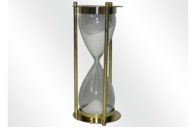 Sand Brass Clock