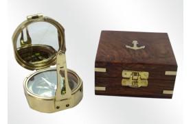 Brunton Compass de Latão