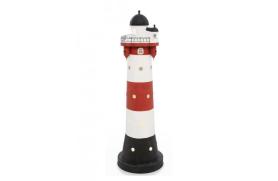 """Leuchtturm kerze """"Roter Sand"""""""
