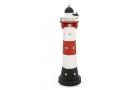 "Lighthouse w/light""Roter Sand"""