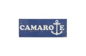 "Placa madera ""camarote"""
