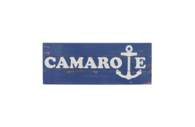 "Wooden plate ""camarote"""