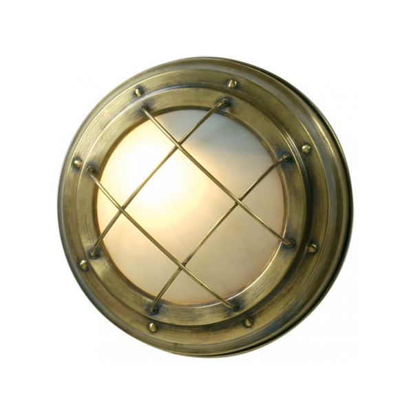 Round wall light