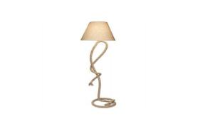 Lámpara de cuerda de pie