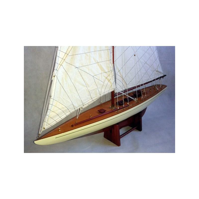 Segelschiff Shamrock | Dekorative Segelboot | Heimtextilien ...