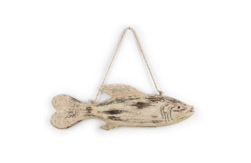 Fish-shaped pendant