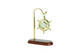 Clock rudder suspended