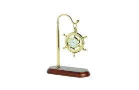 Clock rudder suspended