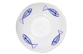 Plateau avec poissons