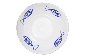 Tray with fish