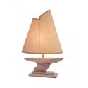 Lampe avec voilier