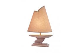 Lâmpada com veleiro