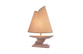 Lámpara con velero