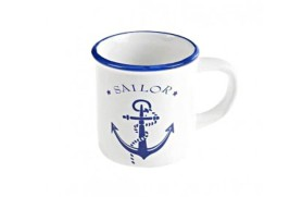 "4 uds. Taza ""Sailor"""