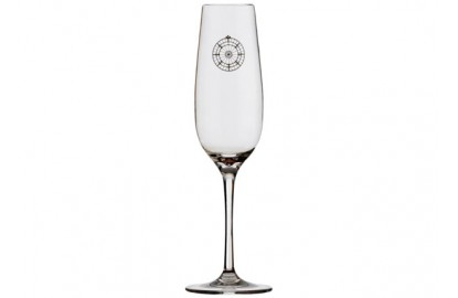 Set 6 Champagne glass BALI
