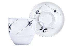 Set 6 Xícaras de chá NORTHWIND
