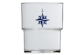 Stackable glass NORTHWIND