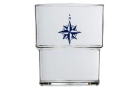 Set 12 Stackable glass NORTHWIND