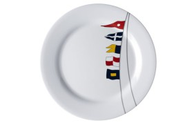 Set 6 Flat dish REGATA