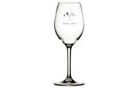Set 6 Wine glass WELCOME ONBOARD