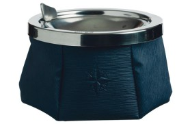 Cenicero azul marino WINDPROOF