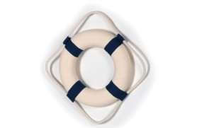 Decorative Blue Lifebuoy