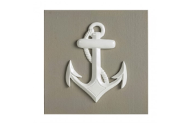 Picture anchor beige