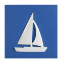Picture Blue sailboat