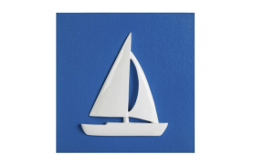 Quadre veler blau