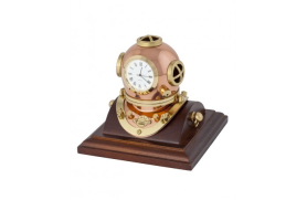 Casco buzo con reloj