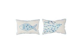 Coussins Couple de poissons
