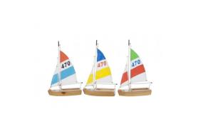 2 schiffbaren Segeln