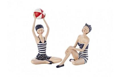 Paar Badegäste