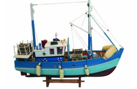 Schaltier-Fischerboot