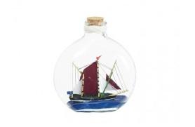 6 navios em garrafas
