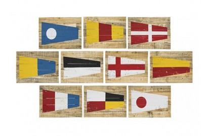 Set 10 Cadres du CODE INTERNATIONAL DES SIGNALISATIONS