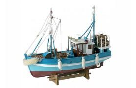 Bateau de pêche traditionnelle