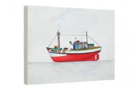Cuadro Barco marino óleo