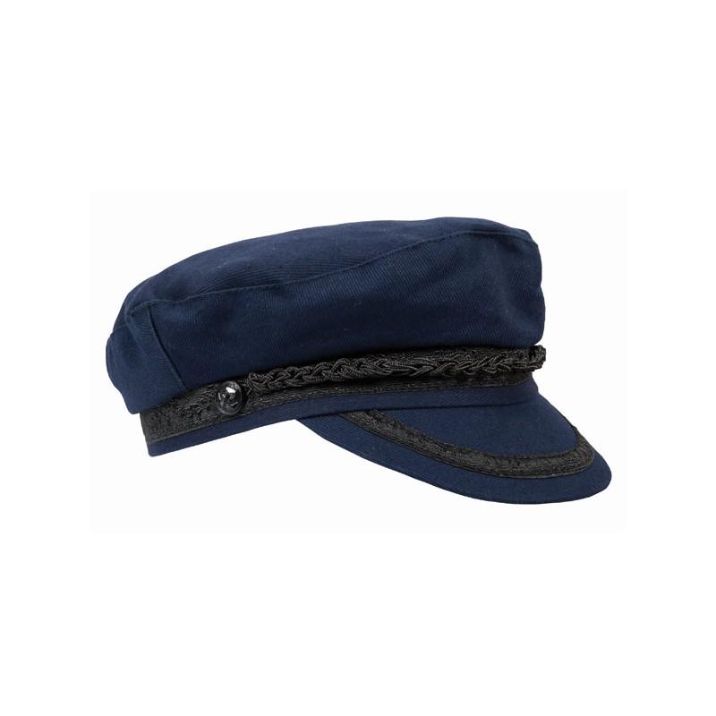 chapeau de marin en coton mode nautique et marine. Black Bedroom Furniture Sets. Home Design Ideas