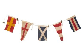 Guirlande 5 drapeaux