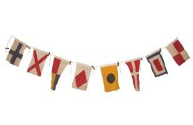 Girlande 8 Flaggen