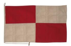 """Bandeira """"Letra U"""""""