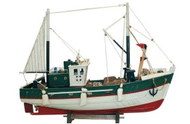 Meeresfrucht Fischerboot