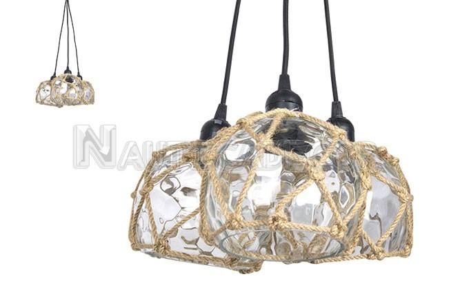 Three Buoy Ceiling Lamp