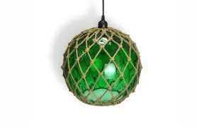 Glass Buoy Lamp